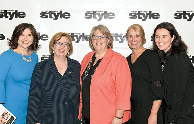 Allison Goodin, Elizabeth Meade, Nancy Wunderly, Deborah Accurso and Dana Rivera.jpg