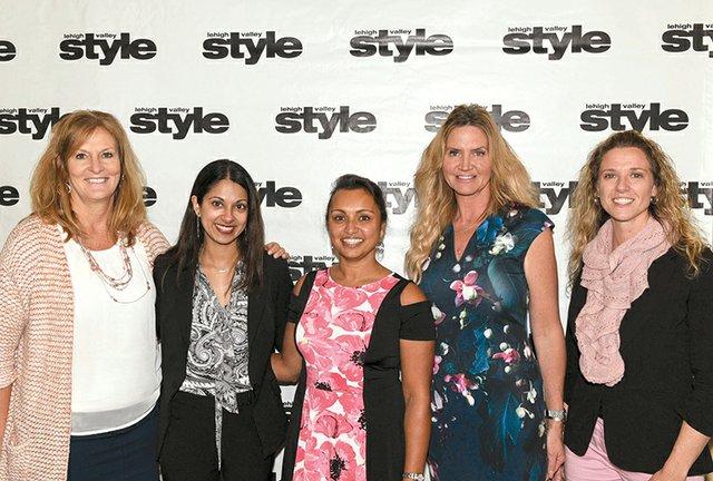 Ann Fatzinger, Priya Sareen, Samina Wahhab, Lori Alfonse and Catherine Taranto.jpg