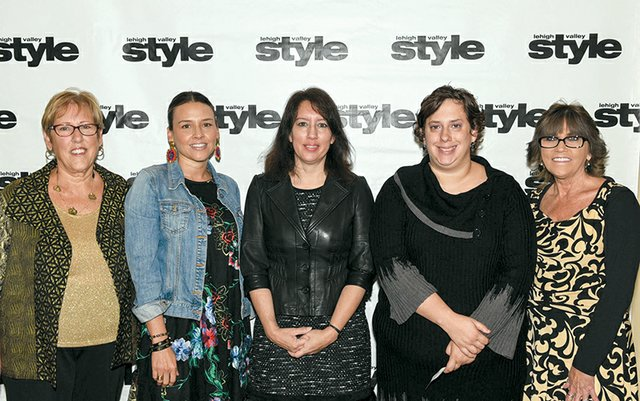 Marilyn Hamm, Maria Mora, Michelle Hicks, Dominique Michael and Angie Reinsmith.jpg