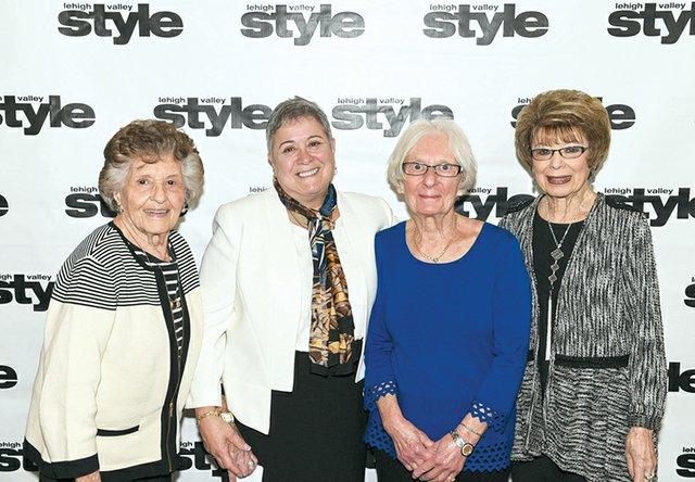 Selma Roth, Micki Auerbauch Wechsler, Leah Devine and Tama Lee Barsky.jpg