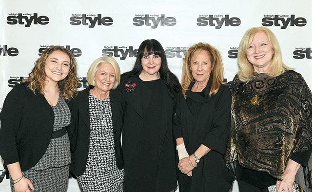 Valerie Nicholas, Connie Challingsworth, Ilene Wood, Gail Coles and Jane Wells Schooley.jpg