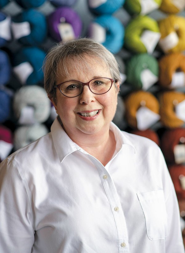 Cindy Fitzpatrick, Owner of Conversational Threads Fiber Arts Studio