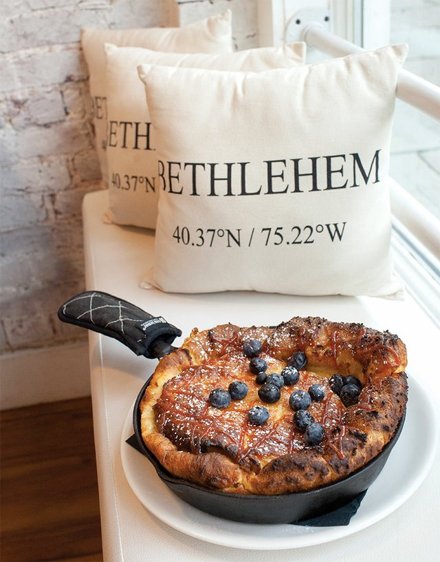 Worth The Wait Dutch Baby Pancake at The Flying Egg