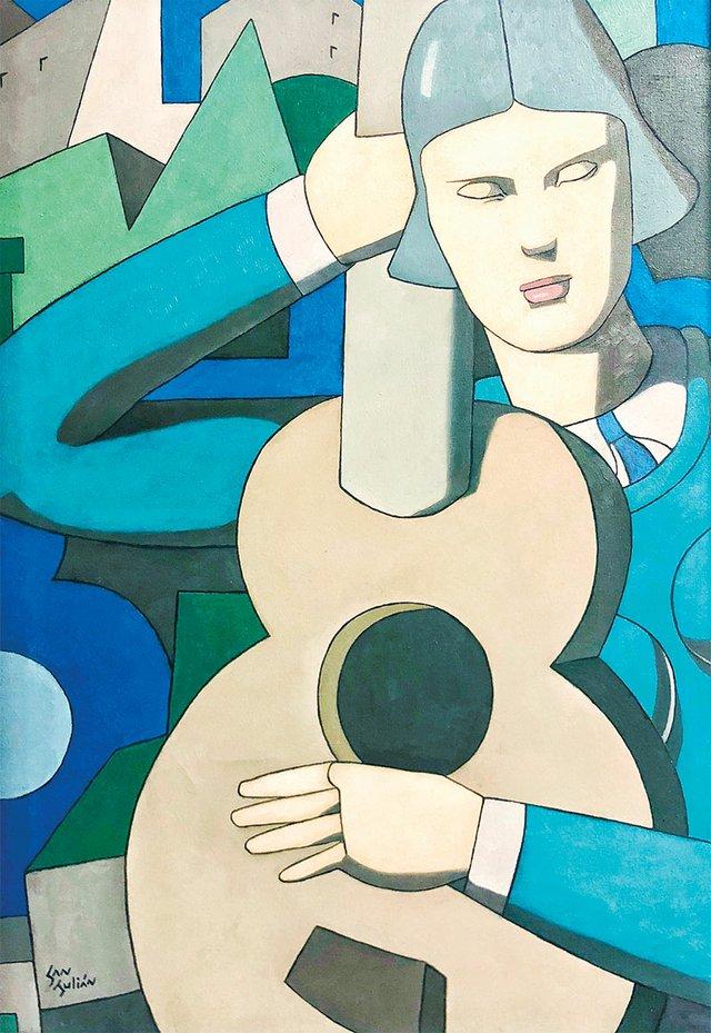 Artwork by Nelson San Julian