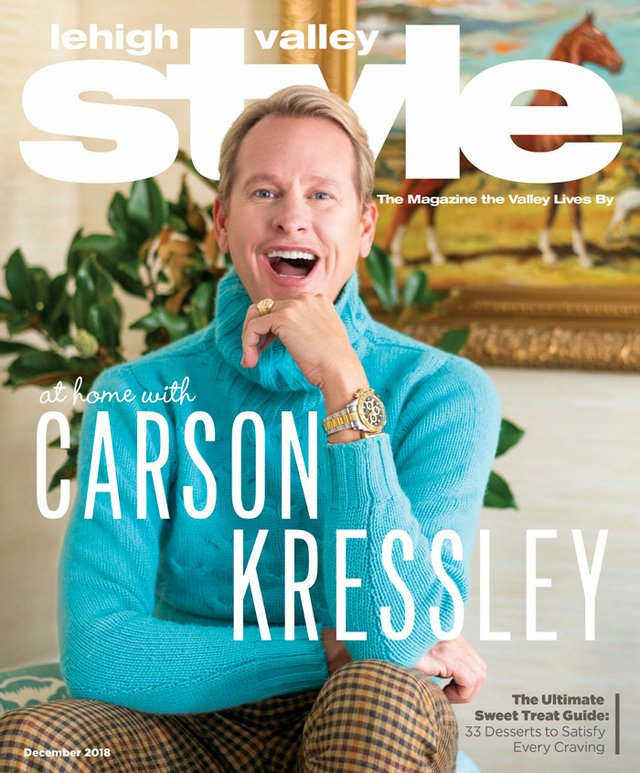 December 2018 Cover Lehigh Valley Style Carson Kressley