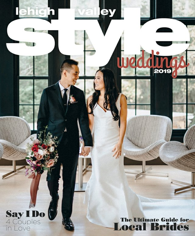 Lehigh Valley Style Weddings Cover 2019