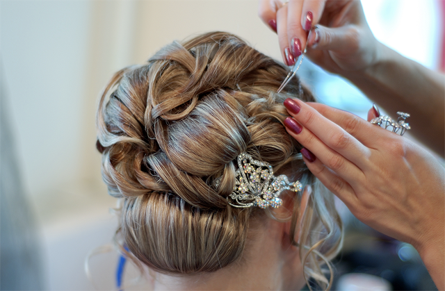 Wedding Hair Test
