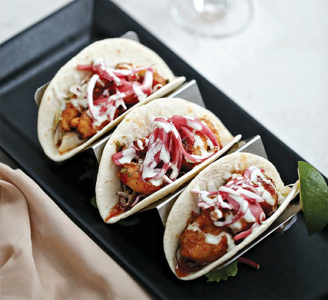 Street Tacos from The Beam Yard at Steel Club