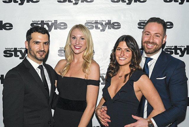 Evan Diacogiannis, Michelle Easterlin, Kayla Pitsilos and Lance Leighton.jpg
