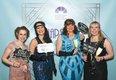 Kaylee Santanello, Lucy Bloise, Sharon Schenkel and Bonnie Hawk.jpg