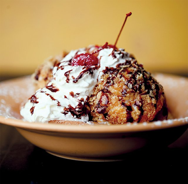 Casa Toro Fried Ice Cream