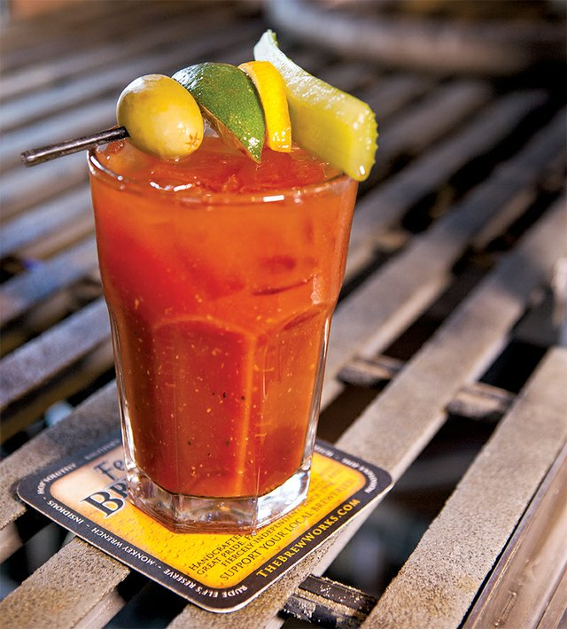 The Fegley's Bloody Mary at Fegley's Brew Works