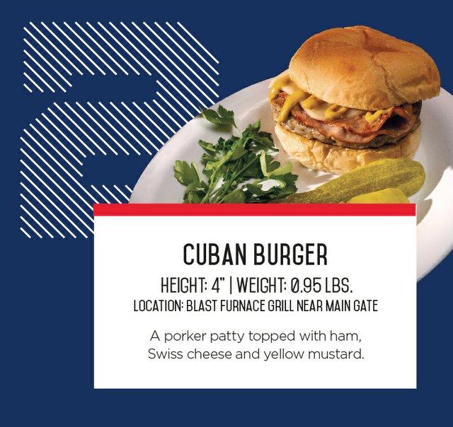 IronPigs Cuban Burger