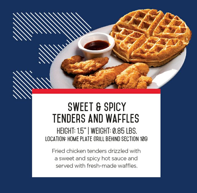 IronPigs Cuban Sweet & Spicy Tenders and Waffles