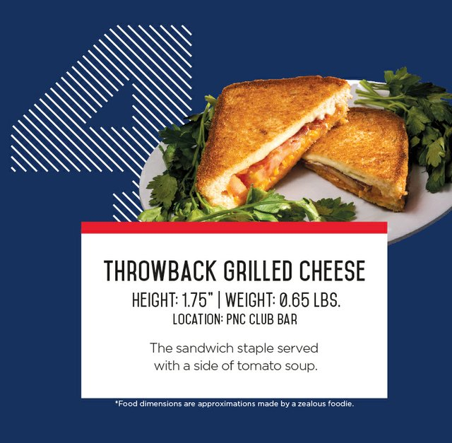 IronPigs Throwback Grilled Cheese