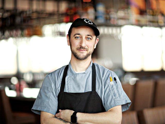 Chef Justin Cogan of ZEST Bar+Grille