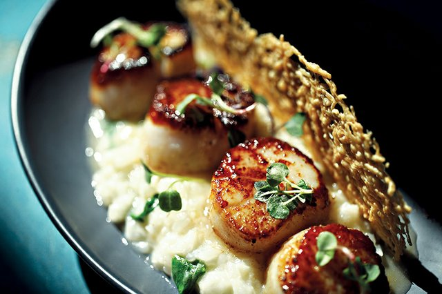 Sea Scallops from ZEST bar+grille