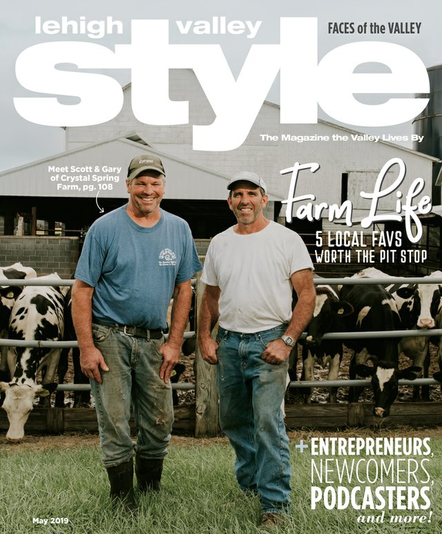 May 2019 Cover of Lehigh Valley Style