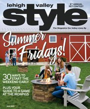 June 2019 Cover of Lehigh Valley Style
