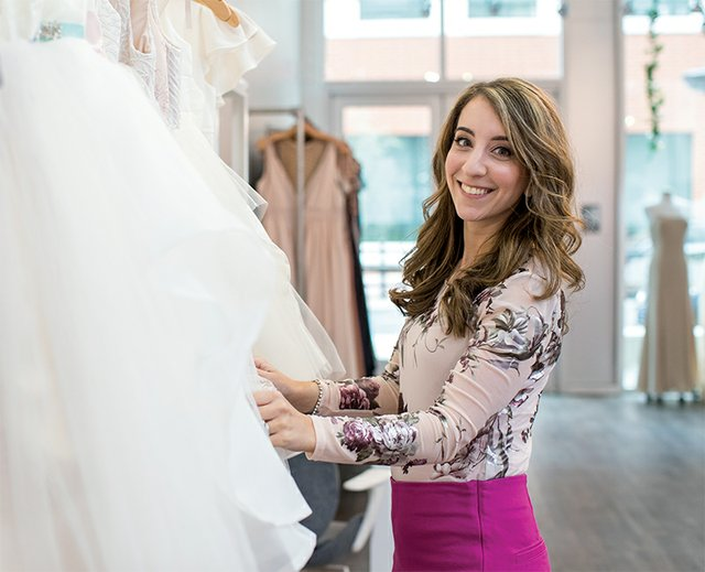 Erika Berardinucci, owner of Bella Bridesmaids in Allentown