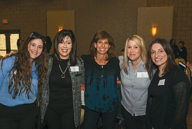 Rotem Bar, Amy fels, Miriam Zager, Fay Kun and Erica Stein.jpg