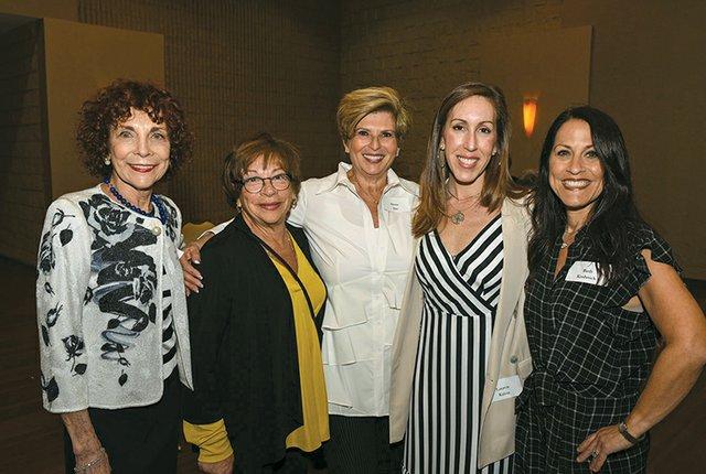 Sandra Goldfarb, Lorrie Scherline, Aliette Abo, Lauren Rabin and Beth Kushnick.jpg