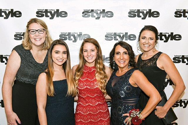 Amanda Buss, Briana Lewis, Carly Werner, Valerie Lewis and Abby Silfies.jpg