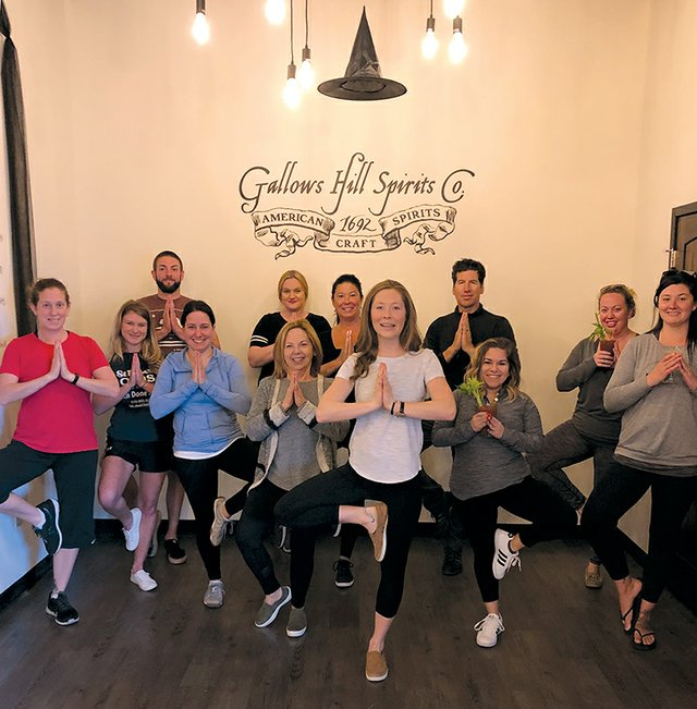 Yoga at the Gallows