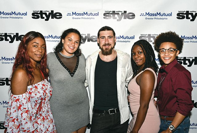 Christina Isaacs, De'Asia Thompson, Jerry Knauss, Malikah Younger and Bracara Welch.jpg