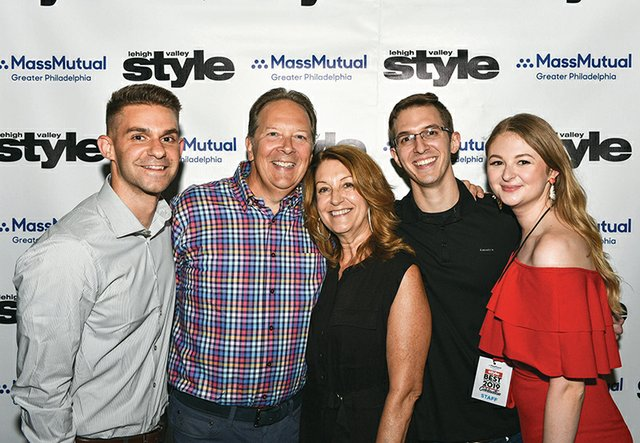 Jason Stachowski, David and Sharon Hanuschak, Chris Hanuschak and Emily Melendez.jpg