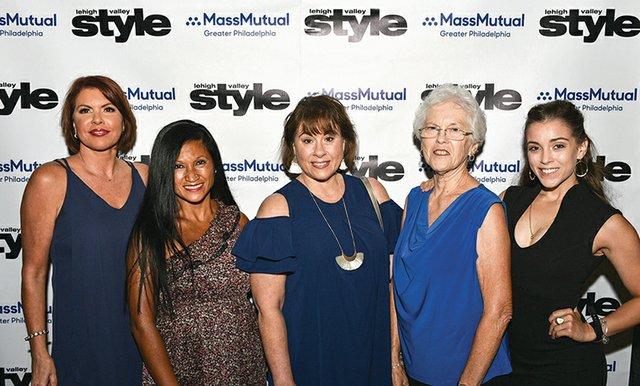 Pam Deller, Sireana Watkins, Susan Watkins-Miller, Ginny Watkins and Jessica Miller.jpg