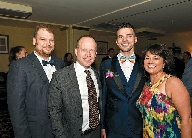 Peter Bernard, John Von Kerczek, Benny Vukaj and Shirley Lang.jpg