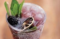 Blackberry Mojito from Greenhouse Enoteca