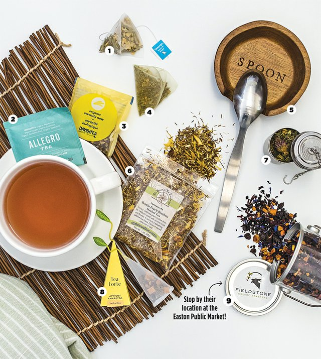 9 Tea Time Staples