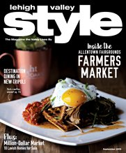 September 2019 Cover of Lehigh Valley Style