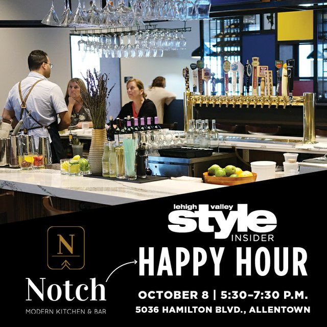 Style Insider Happy Hour at Notch