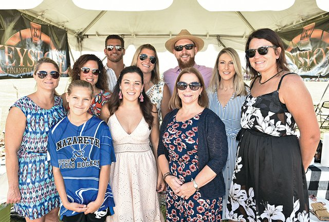 Jamie Moulton, Christina Coxe, Nick and Danielle Bender, Braygen Bender, Monica and Eric Nickles, Amy Tashner, Debbie Mosser and Amber Carrick.jpg