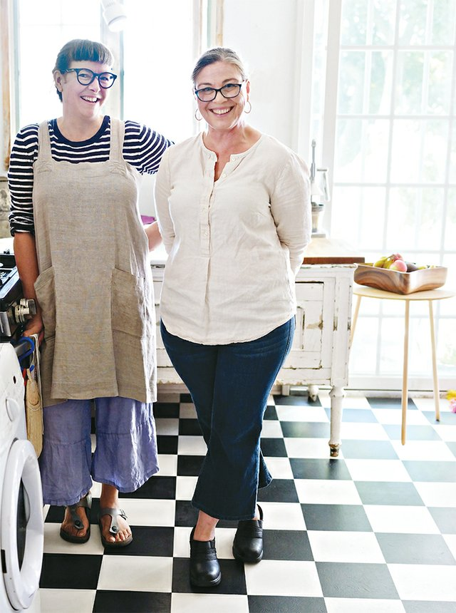 Anne Gerr & Lisa Yelagin of Pie + Tart