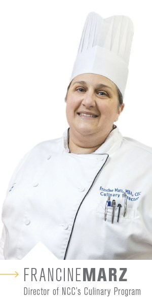 Francine Marz - Director of NCC's Culinary Program
