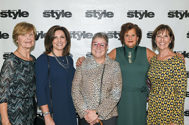 Judy Ambandos, Mary Staiman, Micki Auerbach Wechsler, Meryl Corcorna and Carol Powers.jpg