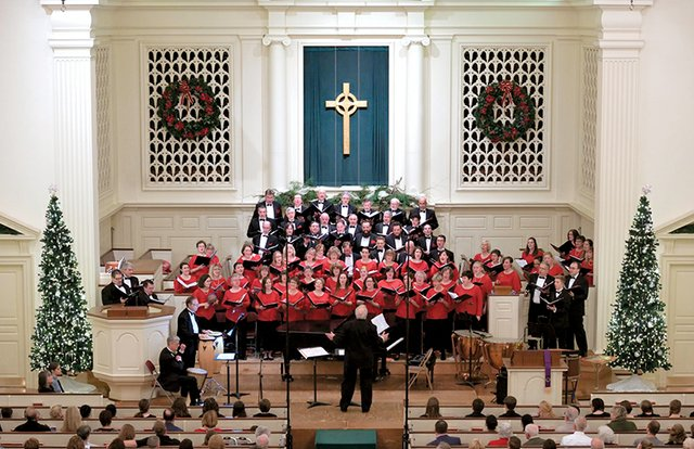 The Bach Chior of Bethehem Christmas Concert