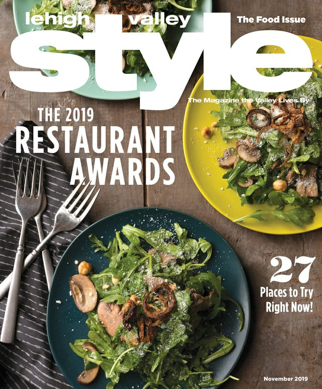 November 2019 cover of Lehigh Valley Style