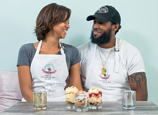 Khanisa & Sean Darby, Founders of Khanisa's Pudding Bar