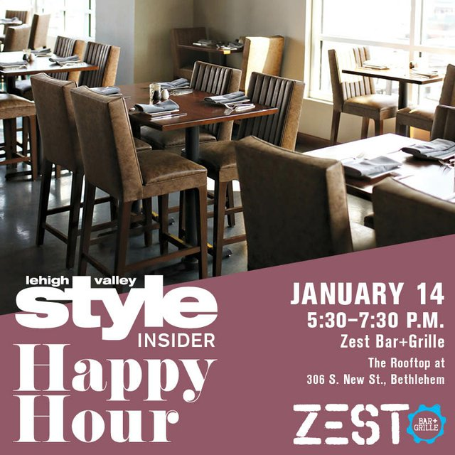Style Insider Happy Hour January 14