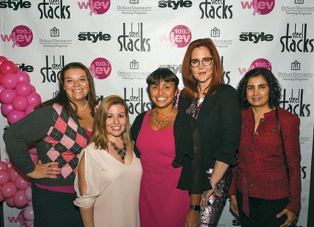Christine Piper, Danielle Walter, Samina Wahhab, Jaccii Farris and Rumi Ahmed.jpg