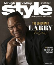 Larry Holmes February 2020 Lehigh Valley Style Cover