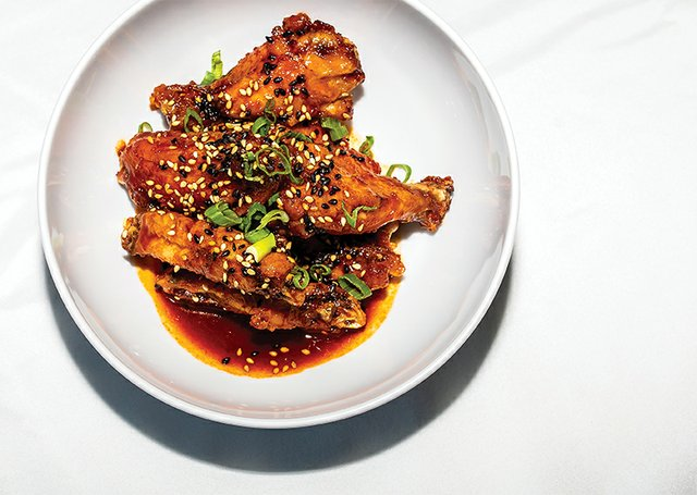 "Spicy ""Fish"" Wings from The Other Fish"
