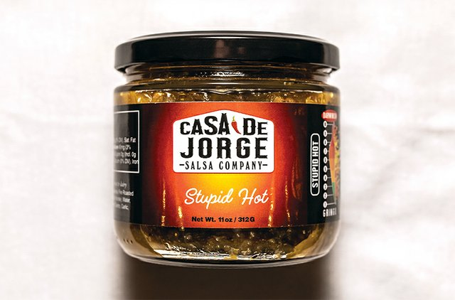 Stupid Hot salsa from Casa De Jorge Salsa Company