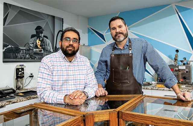 Harsh Zaveri & Timothy Statler, Owners of Timothy Zaveri Fine Jewelry