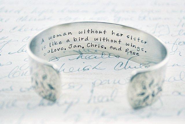Sister bracelet - hand stamped bracelet - belle ame jewelry - kelly berkey - personalized bracelet.jpg